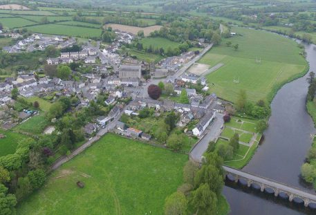 Aerial View of Inistioge Village