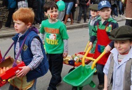 St Patricks Day, Inistioge, Co. Kilkenny